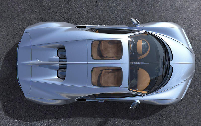 Bugatti Chiron: Sky View