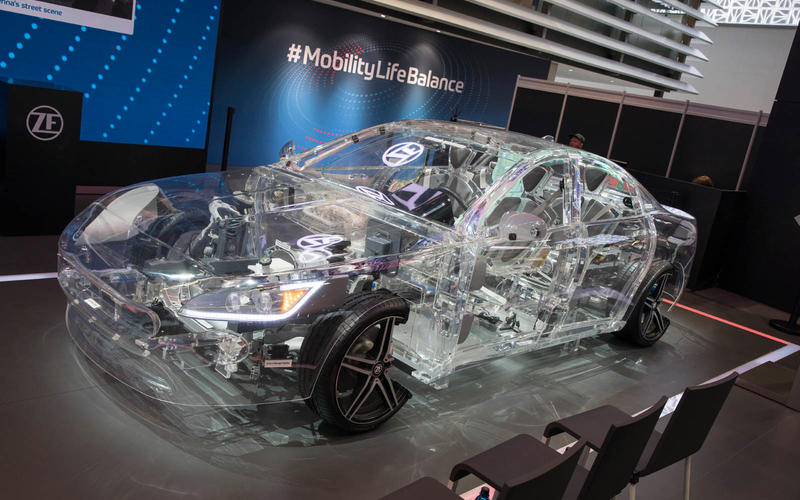 ZF's glass cars