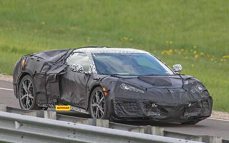 Spied: Corvette C8
