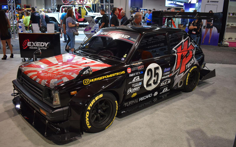 Toyota Starlet Time Attack (1984)
