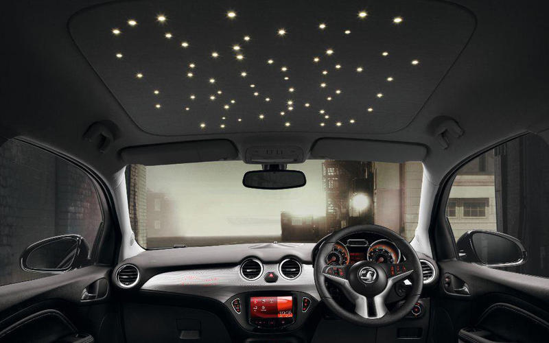 Vauxhall's star ceiling