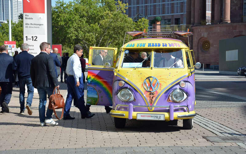 Volkswagen Bus press shuttle