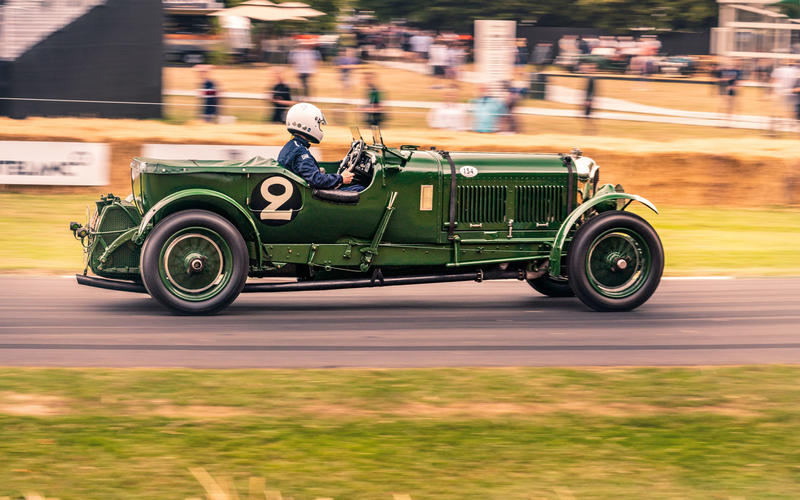 Bentley 'Old Number Two' at Goodwood Festival of Speed 2019