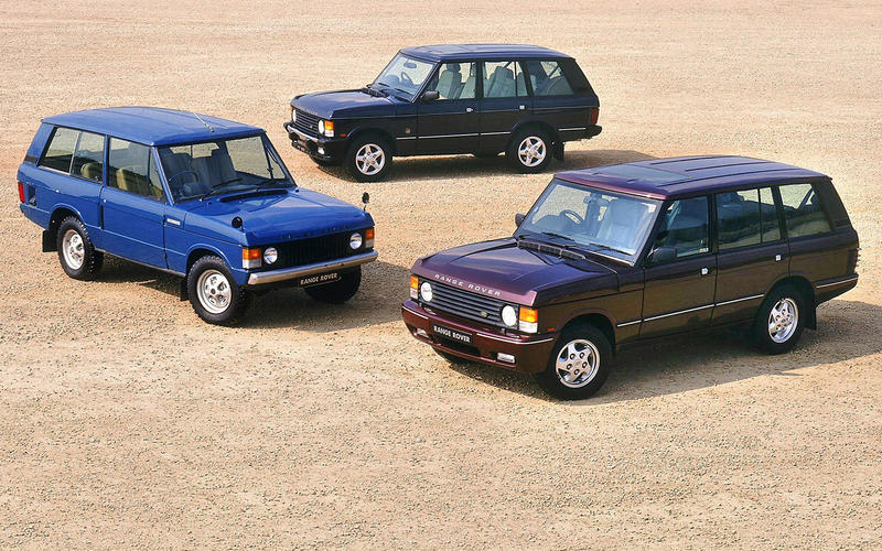 Range Rover Classic bows out