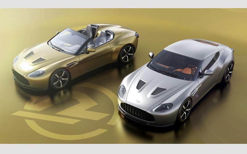 Aston Martin Vantage Zagato V12 Heritage (2019)