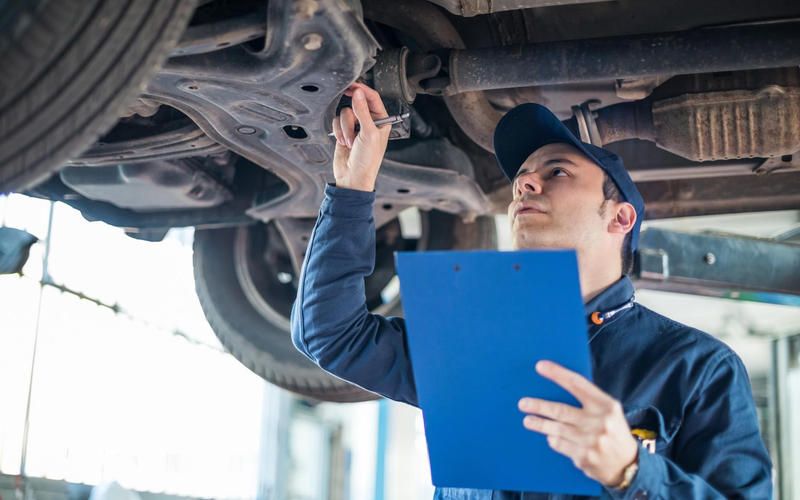 Vehicle inspection tests