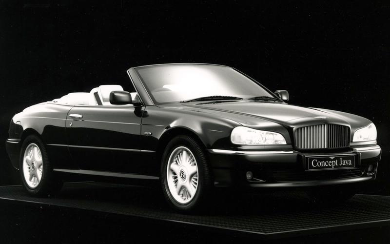 Bentley Concept Java (1990)