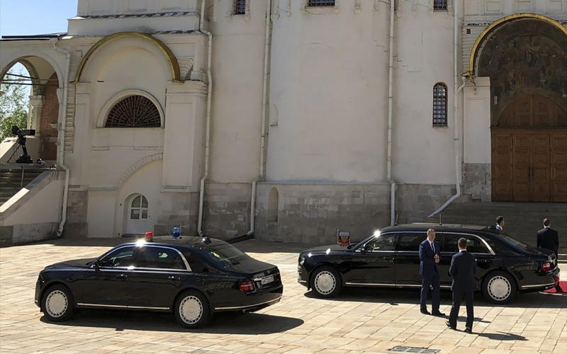 50: Aurus Senat Guard sedan (Russia)