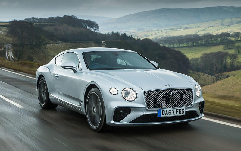 20: Bentley Continental GT