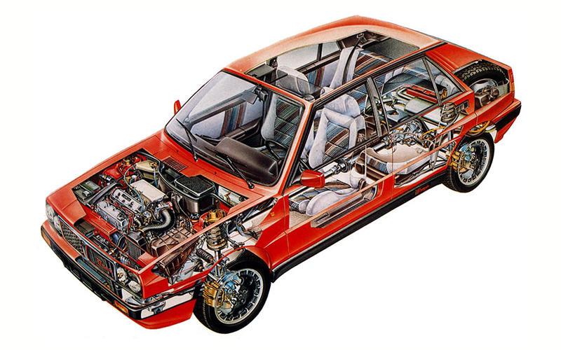 Lancia Delta Integrale (1988)