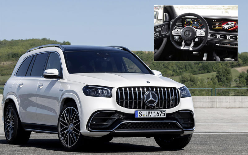 SUMMER 2020: Mercedes-AMG GLS 63