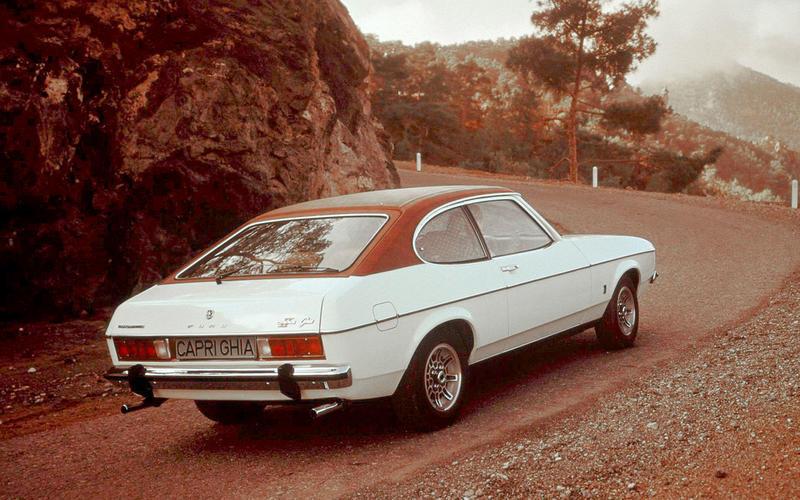 Segments FORD Cortina coupé 2000 Capri Mk II & Mk III 2.0 Escort Mk II 2.0 RS Marche americane