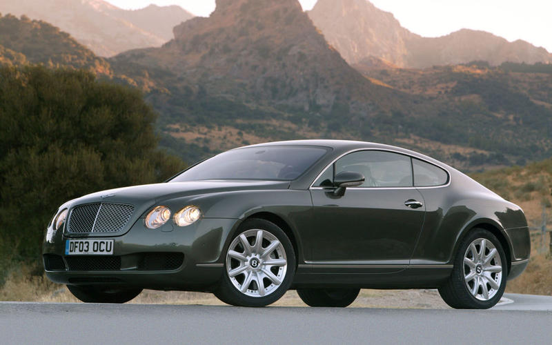 69. 2002 Bentley Continental GT - NEW ENTRY