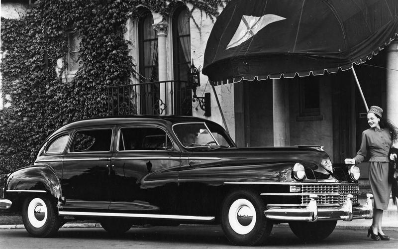 DISC BRAKES: Chrysler Crown Imperial (1948)