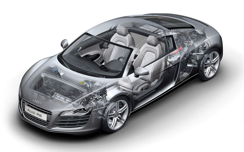 Audi's first supercar