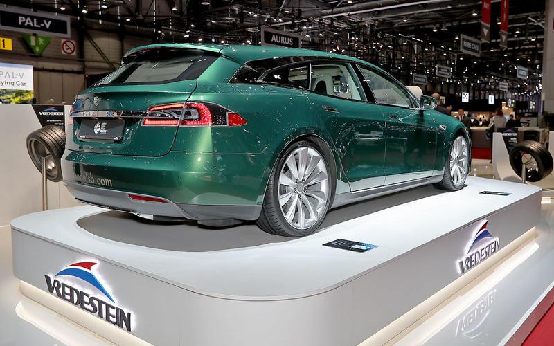 Tesla wagon