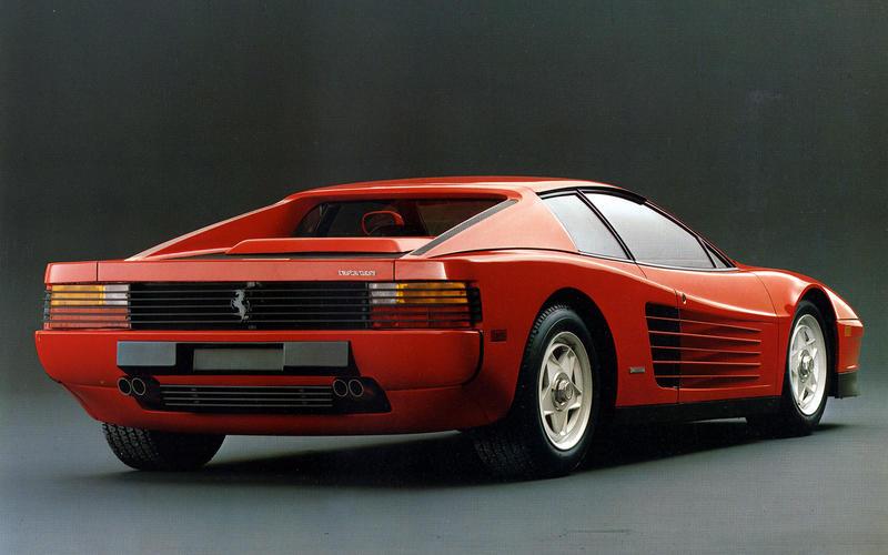 Ferrari Testarossa: 1984