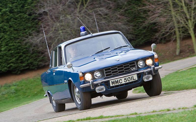 43: Rover P6 3500S (Britain)