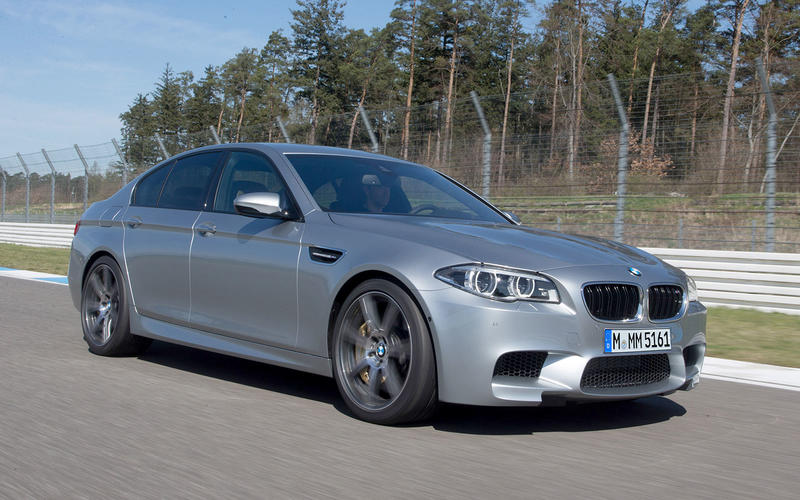 BMW M5 Competition Package (2014)