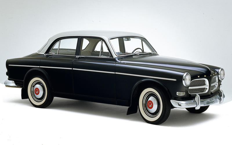 3-POINT SEATBELT: Volvo Amazon (1959)