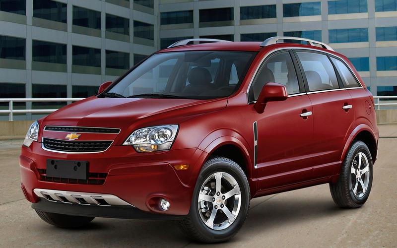 Chevrolet Captiva Sport (2006) – 7 models