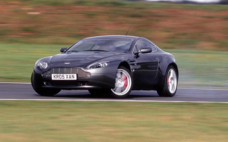 65. 2005 Aston Martin V8 Vantage - NEW ENTRY
