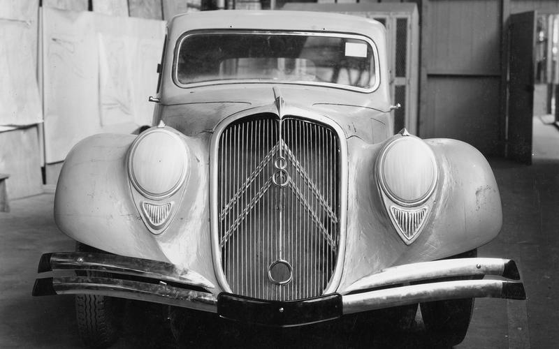 V8-powered Citroën