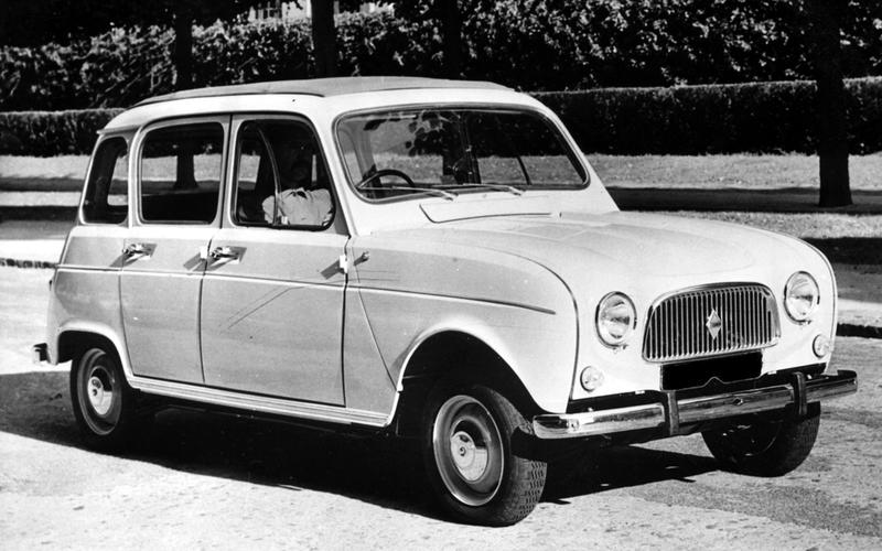 SEALED PRESSURE COOLING: Renault 4 (1961)
