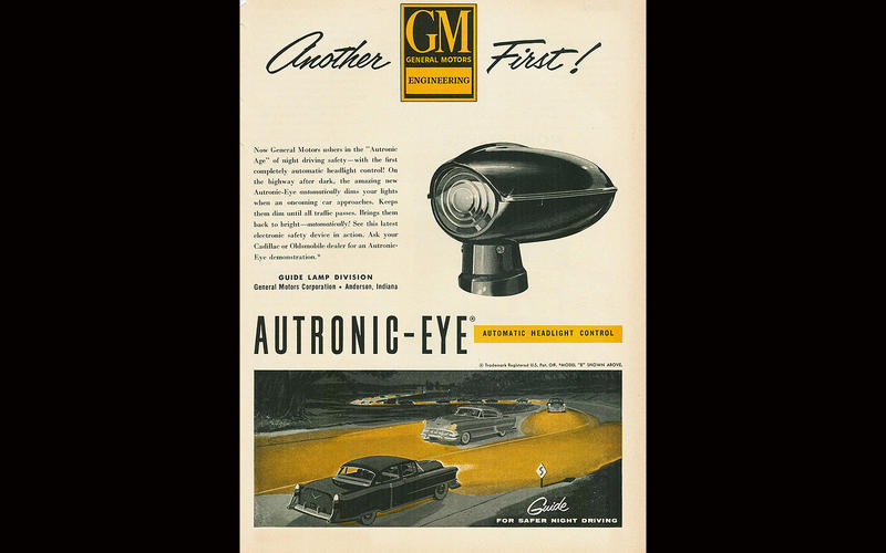 AUTOMATIC HIGH BEAM: Oldsmobile (1952)
