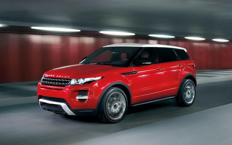 A baby Range Rover