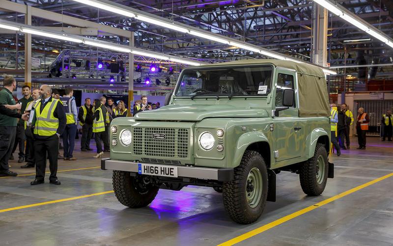 Final Land Rover Defender (2016)