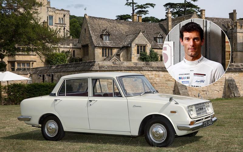Mark Webber - 1969 Toyota Corona