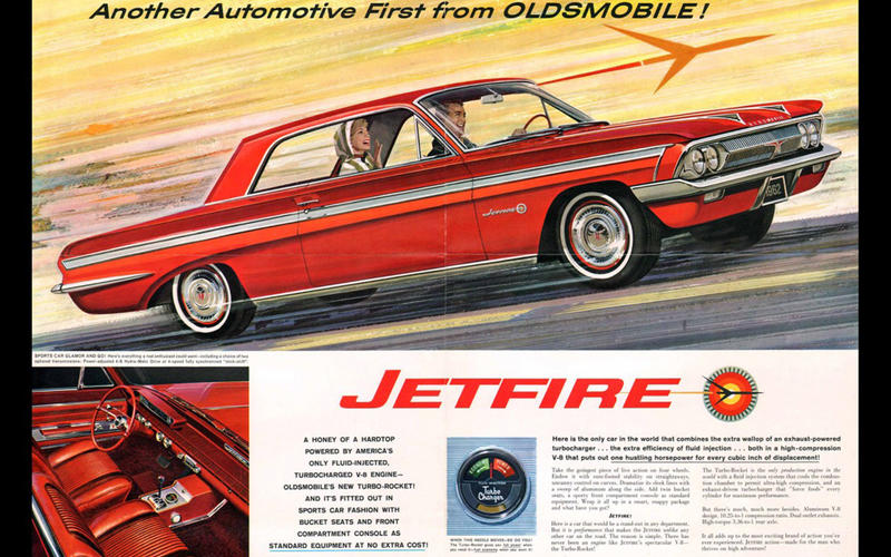 TURBOCHARGER: Oldsmobile F-85 Jetfire (1962)