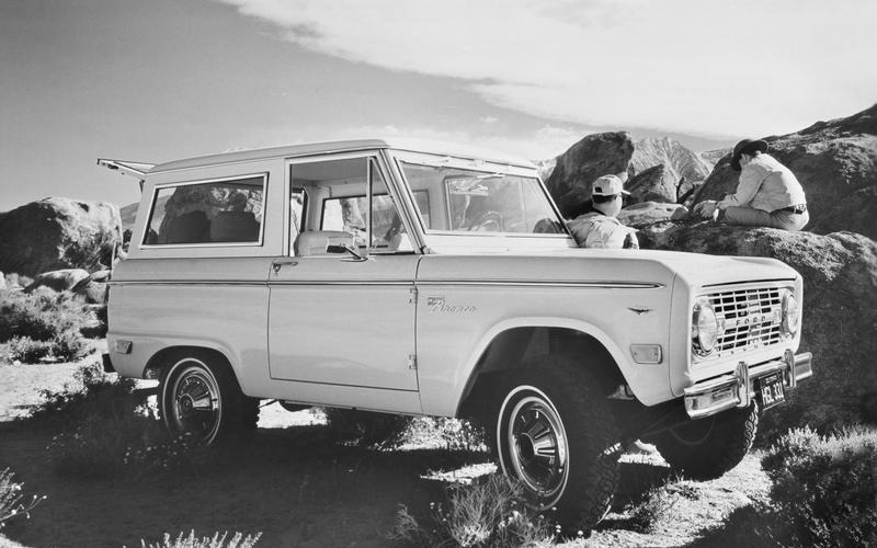 The original Bronco, by the numbers (1966)
