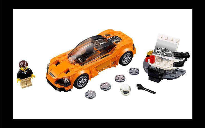 McLaren 720S (Speed Champions set #75880, US$21/£16)
