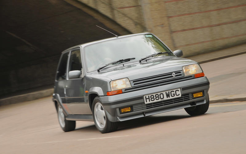 renault 5 gt turbo better than the 205 gti autocar. Black Bedroom Furniture Sets. Home Design Ideas