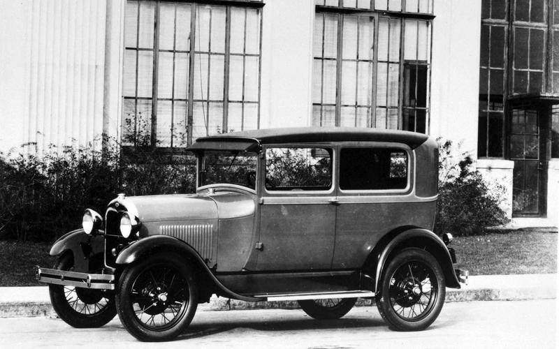 LAMINATED GLASS: Ford Model A (1927)