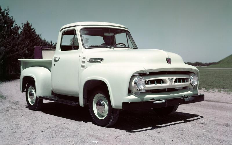 The second-generation F-Series (1953)