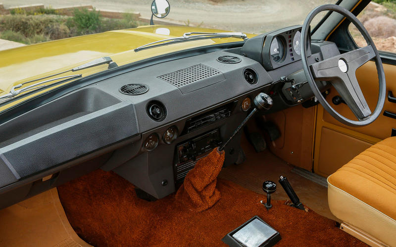 1973 - Hydraulic power steering introduced