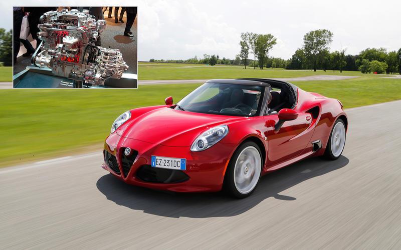 Alfa Romeo 4C: 136.1bhp/litre