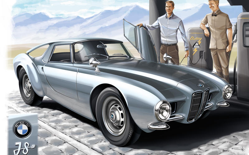 1956 BMW E07 – 'BMW i8'