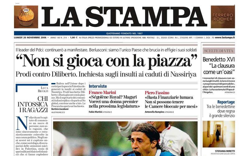 Fiat's daily newspaper