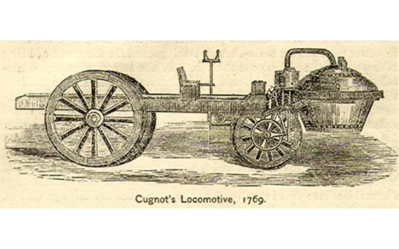 Nicolas-Joseph Cugnot: first self-propelled vehicle