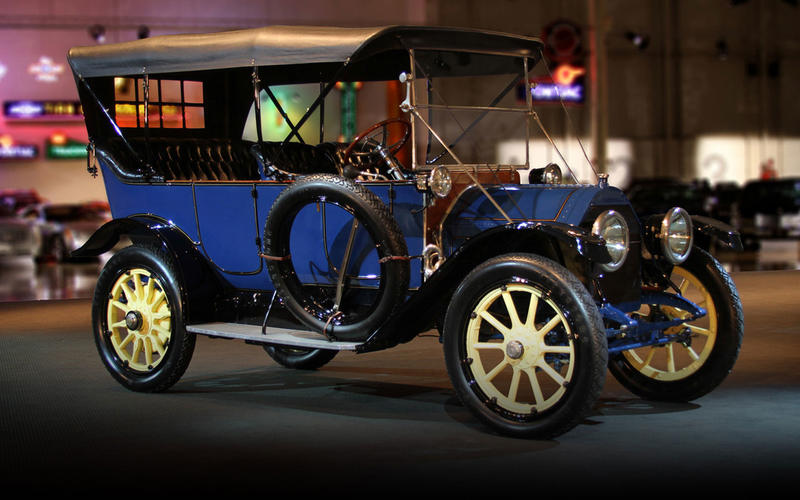 ELECTRIC STARTING: Cadillac (1912)