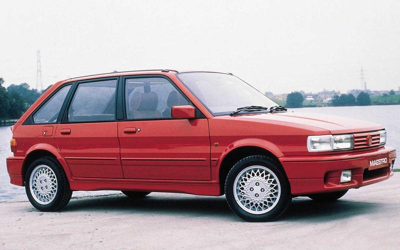 MG Maestro – 72 on the road