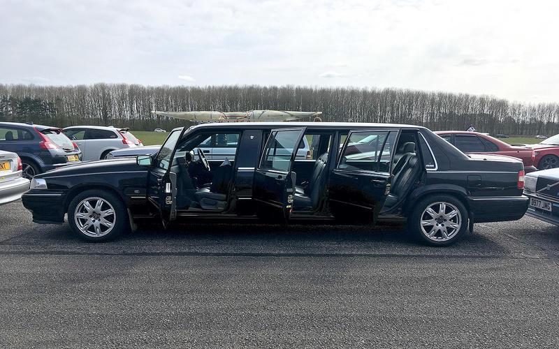 Volvo S90 Nilsson Limousine (1990)
