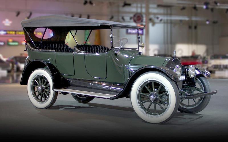 V8 ENGINE: Cadillac (1915)