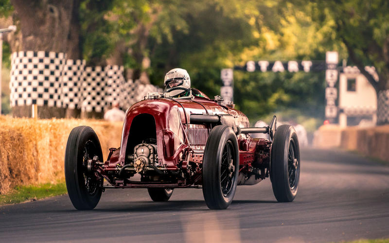 Bentley 'Birkin Single-Seater' at Goodwood Festival of Speed 2019