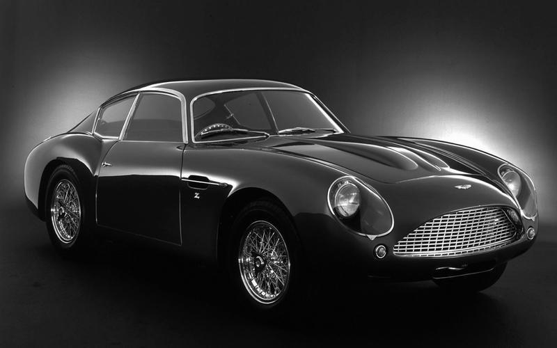 Aston Martin DB4 GT Zagato - then
