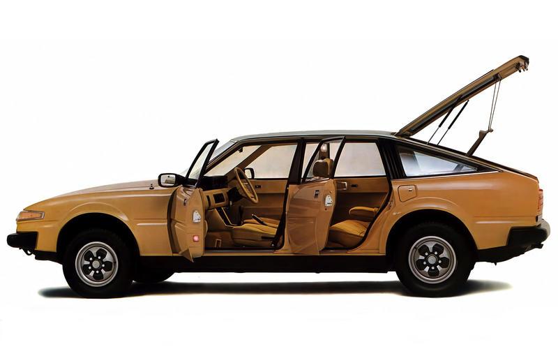 Rover SD1 - then